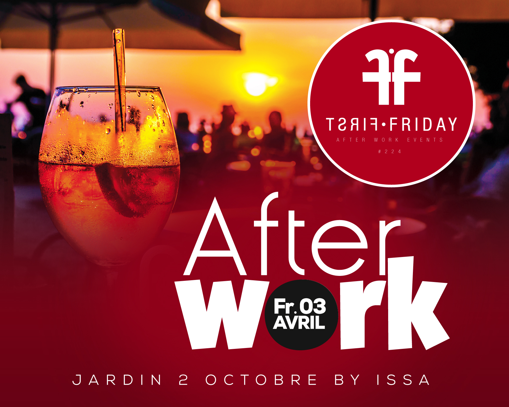 FIRST FRIDAY Afterwork